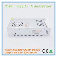 Wholesale High Voltage Protection - High Power 400W DC12V Switch Power Supply Non-waterproof 12V 33A LED Driver Power Supply Over Voltage Protection for Lighting and Industry