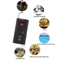 Wholesale Gsm Protection - New Arrival Anti-Spy Signal Bug RF Detector Hidden Camera Laser Lens GSM Device Finder For Privacy Security Protection