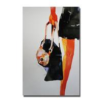 pintura livre meninas nuas venda por atacado-Frete grátis meninas do sexo fotos pintados à mão das mulheres sexo quente imagges sem emoldurado fotos femininas nu chinês