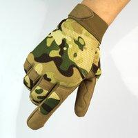 nylon motorrad handschuhe großhandel-Outdoor Sport Skifahren Touchscreen Handschuh Radfahren Fahrrad Handschuhe Bergsteigen Militär Motorrad Rennrad Handschuhe SC070