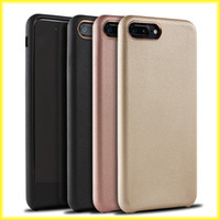 Wholesale Metals Drop Shipping - Luxury High-End Business Leather Metal Ring For Iphone7 Iphone 6s Protective Anti-Drop Case With Retail Bag Via DHL Free Shipping