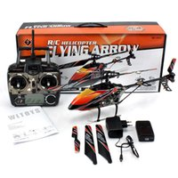 Wholesale Helicoptero V912 - rc Helicopter Wl toy v912 2.4g 4ch , outdoor Single-propeller helicopter, remote control Aeromodelling