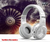 bluedio écouteurs sans fil 4.1 achat en gros de-Bluedio H + écouteur stéréo Hifi Bluetooth 4.1 écouteur Pluggable Lecture MP3 et FM Radio écouteur stéréo sans fil 3D stéréo Subwoofer