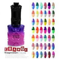 Wholesale Uv Gel Colour Polish - Wholesale- Nail Gel Polish Chameleon Mood Colour Change with Temperature 115 Fashion Color hot sale