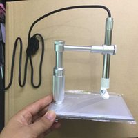 Wholesale Usb Pen Microscope Camera - 1- 600x Zooming 2MP HD USB Digital Microscope 8 LED Electronic Video Camera Electron Pen Endoscope Magnifier for Circuit Repair