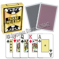 Copag Texas Hold '; Em Poker Taille Jumbo Index 100% plastique Cartes à jouer Casino Qualité Poker Tourment Made In Belgique