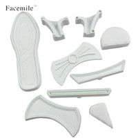 Wholesale Embossing Tools For Cakes - Wholesale- Facemile 9Pcs set Plastic Fondant Ladies High Heel Shoe Cutter Press Mold Cake For Cake Decoration Tools Embossing Dies 52124