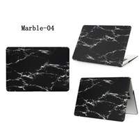"Wholesale A1466 Case - Plastic Shell Hard Cover Case Marble For Apple Macbook Air Pro Retina 11.6"" 13.3"" 15.4"" A1370 A1465 A1369 A1466 A1278 1286 A1398 A1425"