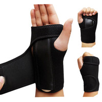 Wholesale Wrist Hand Brace - AOLIKES Sports Wrist Palm Brace Wrap Sprain Injury Support Protector With Aluminum Plate Left Handed Right Handed A379
