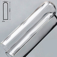 Wholesale big strap dicks for sale - Group buy Hollow pyrex glass artificial penis big anal dildo butt plug crystal fake male dick masturbator adult sex toys for women men gay