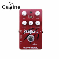Wholesale Guitar Effects Pedals Metal - Caline CP-30 Heavy Metal Electric Guitar Effect Pedal With Vintage and Modern Style Similar to Tube Sound