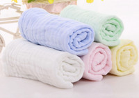 Wholesale towelling organic cotton for sale - Group buy Baby Muslin Washcloths and Towels Natural Organic Cotton Baby Wipes Hand Towel Muslin Washcloth for Sensitive Skin