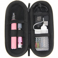 Wholesale Ego Metal Case Packing - CE4 eGo Starter kit Zipper case packing single kit CE4 Atomizer Clearomizer ego t 650mah 900mah 1100mah battery electronic cigarette