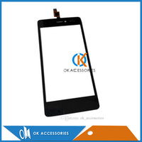 Wholesale Highway Signs - Wholesale For Wiko highway signs Touch Panel Touch Screen Digitizer Black White Free DHL EMS