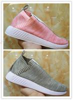Wholesale Toe Socks Men Athletic - New Arrival 2017 x Naked x Kith Running Shoes,NMD PK CS2 Sock PK Primeknit Athletic Shoes,Men Women Top Quality Sneakers Eur 36-45 US 5-11