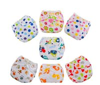 Wholesale Newborn Baby Diaper Nappy - 2017 Newborn Baby Summer Cloth Diaper Cover Adjustable Reusable Washable Nappy