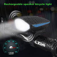 Wholesale Accessories Mtb Lamp - AloneFire Bike Light Head LED Flashlight With Bell Luces Bicicleta Multifunction Cycle Lamp MTB Road Cycling Headlight Bicycle Accessories