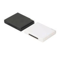 iphone için dock istasyonu hoparlörleri toptan satış-Toptan-Bluetooth v2.0 A2DP Müzik Alıcısı Adaptörü forFor iPhone 30 Pin Dock Yerleştirme Istasyonu Hoparlör ile 1 LED