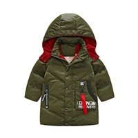 Wholesale Value Jackets - 2017 new fashion in the big boys and girls leisure down jacket value of the value of warm long thick down jacket