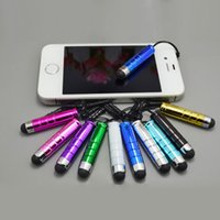 4000pcs / lot New Arrival Fashion Mini Capactivo Stylus Touch Pen para o smartphone universal Free DHL / Fedex