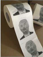 Wholesale Toilet Paper Print - Funny Toilet Paper With Donald Trump Bumf Creative Advertising Customizable Printing Reel Drawing Gag Gifts Bathroom Articles 3 3sz H