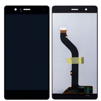 Wholesale Display Huawei - New For Huawei P9 Standard LCD Display Touch Screen Digitizer +Frame Replacement with dhl shipping free
