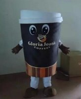 Wholesale Kigurumi Mascot Costume - High Quality coffee cup Adult plush mascot costume for festive & party supplies kigurumi disfraces fancy dress anime