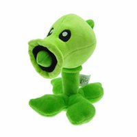 Cheap 8-11 Years Plants vs plush toys Best Unisex Video Games Pea shooter plush toys