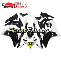Wholesale Cover For Motorcycle Honda - Motorcycle Injection Fairings For Honda CBR500R 2013 2014 Year 13 14 Plastics ABS Fairing Kit Full Covers Cowling Denso White Black Yellow