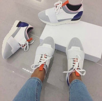 Wholesale Famous Points - Cheap Sell High Quality Paris Famous Brand Casual Shoes Kanye West Men Women Fashion Low-Top Sneakers Genuine Leather Designer Mens Shoes