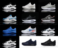 Wholesale Max 87 Shoes - Wholesale 2017 Max Zero QS 87 Running Shoes For Men Women High Quality Fashion Trainers Mens Woman Maxes 87 Sports Sneakers Size 36-46
