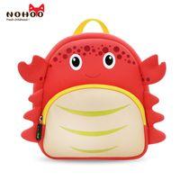 Wholesale Bags For School Cheap - NOHOO backpack Crab design neoprene cheap custom animal school bag for boys girls