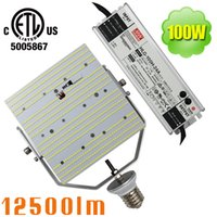 100W 2835 SMD ETL LED Kit di ripristino, ampiamente usato per Wall Pack Pattumiera Street Shoebox Bollard Billboard Area Garage Flood Palo Post Light