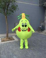 birnen bild großhandel-Birne Baum Maskottchen Kostüm Cartoon Charakter Kostüm Maskottchen Custom Products maßgeschneiderte reales Bild KOSTENLOSER VERSAND