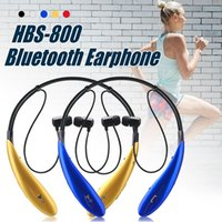 Wholesale Sport Handsfree Bluetooth - For HBS 800 Bluetooth Headphone Wireless Bluetooth Earphone sport bluetooth 4.0 Earphone Handsfree in-ear headphones No logo With Retail Box