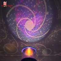 Wholesale Night Planets - Wholesale- BEST Night Light Atmosphere Lamp Romantic LED Universe Night Sky Projector Lamp Kids Gift Planet Light
