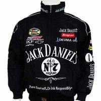 Wholesale Motorcycle Racing Suit Jacket - Hot Selling 2017 New F1 Racing Suit Jack Daniel Jackets Fall And Winter Clothes Mens Long-sleeved Jacket Motorcycle jacket Drop Shipping
