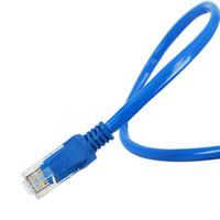 Wholesale Network Cat5e Rj45 - Hot Sale 73cm 1.5M 4M 8M 12M 27M 65FT RJ45 For CAT5E For CAT5 Ethernet Internet Network Patch LAN Cable Cord For Computer Laptop
