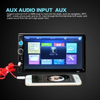 2 Din Auto Radio MP5 Spieler 7 '' HD Touch Screen Bluetooth Telefon Stereo Radio FM / MP3 / MP4 / Audio / Video / USB Auto Elektronik In Dash