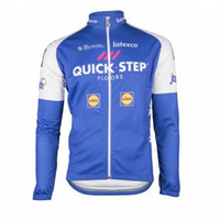 Wholesale Full Steps - 2017 New etixx quick step mens Cycling Clothing bike jersey sports wear Cycling Jerseys long sleeve mtb jacket ropa maillot Ciclismo D0816