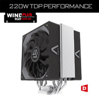 Wholesale Heatsink Fan 775 - Wholesale- ALSEYE CPU cooler, 4 Heatpipes Dual 4pin PWM 120mm fan TDP 220W Heatsink fan radiator for LGA 2011 1366 775 115X AM2+ AM3+