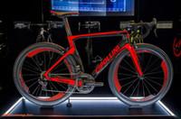 bicicletas de carretera grupo ultegra al por mayor-Rojo Cipollini NK1K Venta caliente Carbono Completa Liquidación en bicicleta DIY Bicicleta con 105 R7000 Ultegra r8000 Groupset