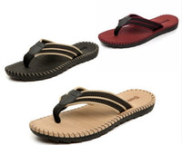 Wholesale Beach Sellers - hot seller fashion In the summer the new Summer flip-flops for men with beach shoes and men sandals 313