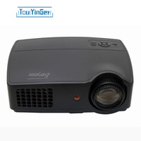 Wholesale Atv Tv - Wholesale-Everycom X9 LCD TV Multimedia HD Projector 3500 Lumens Beamer 1280*800 LED Proyector Full HD HDMI VGA  AV ATV Video Home Theater