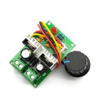 dc controlador de velocidade do motor venda por atacado-Interruptor de controlador 12V / 24V / 36V do regulador de velocidade do motor da CC da largura de pulso PWM de 3A