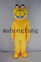 ingrosso garfield di halloween-La festa di Natale Garfield la mascotte del fumetto del gatto costumes i costumi adulti del costume del fumetto del costume di Halloween