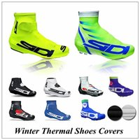 Wholesale Bike Shoe Size - 2017 New arrives SIDI Cycling Shoe Cover Bike Shoes Cover Pro Road Racing Bicycle Shoe Covers size S-3XL For Man Women