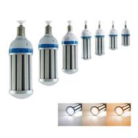 Wholesale led high bay bulb - 120W 100W High Power LED Corn lights LED Corn Bulbs Lamp E27 E40 LED Bulbs RA80 100-120LM W for high bay lights