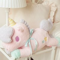 Wholesale Tissue Pillow - Wholesale- Gemini Plush tissue pumping home series unicorn, unicorn doll pillow, car tissue pumping, birthday gifts, Christmas gifts