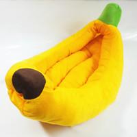 Wholesale Dog Cotton Nest - Banana banana pet nest nest cat pet dog kennel sofa bed supplies fruit nestThe new hot dog commodity fruit series